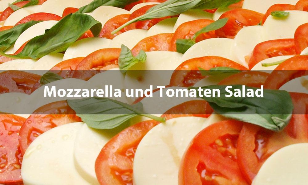 Mozzarella und Tomaten Salad